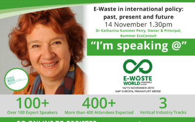 E-Waste World, Frankfurt, November 2019