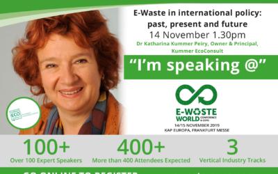 E-Waste World, Frankfurt, November 2019